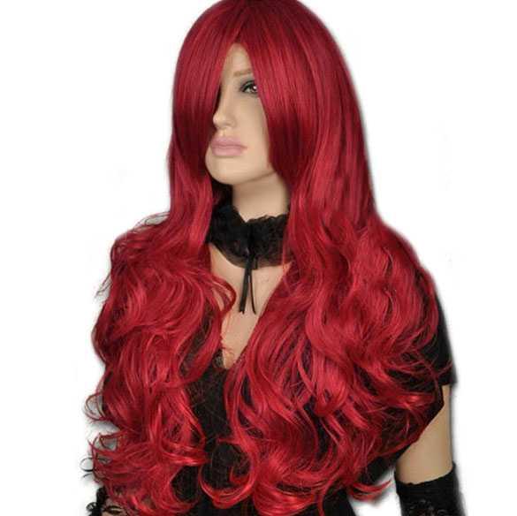 lang hoeren rood haar