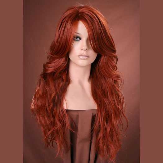 lang interraciale rood haar